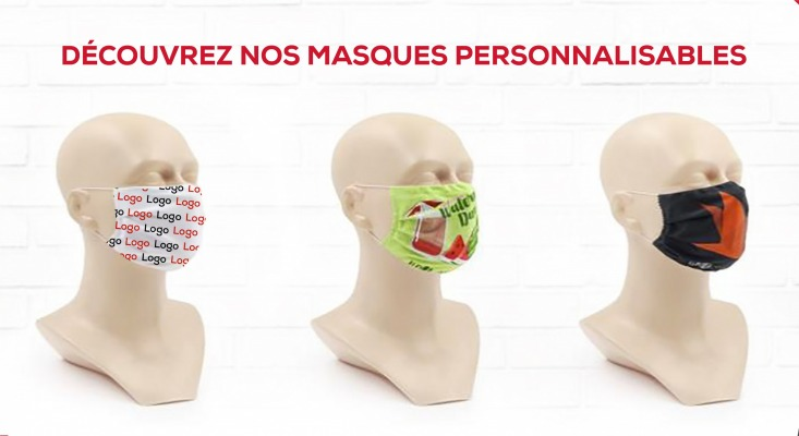 photo de masque personnalisable