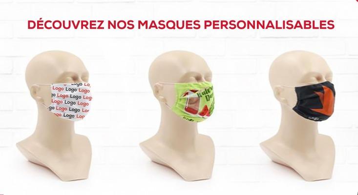 photo de masque personnalisable
